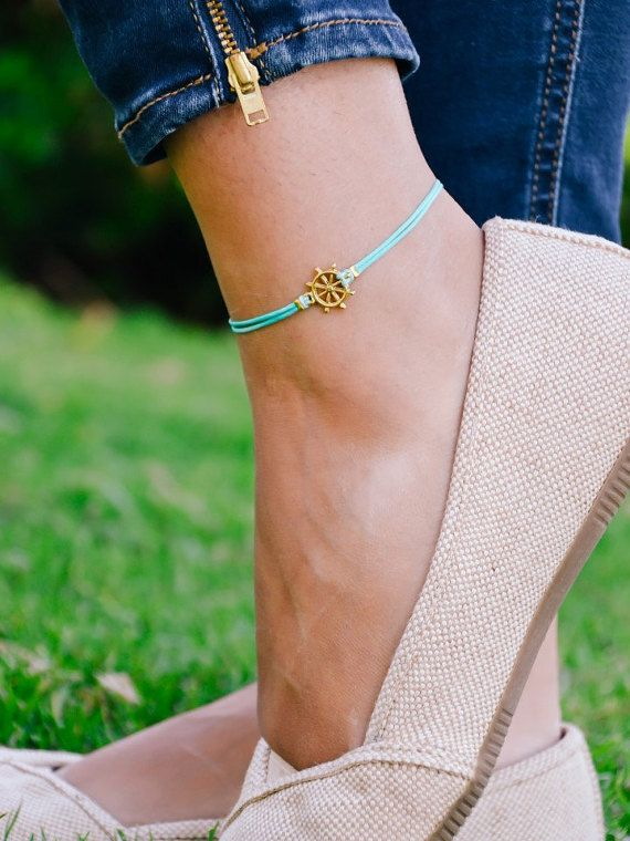 dp anklets amazon bracelet ankle jewelry com yellow quot anklet gold