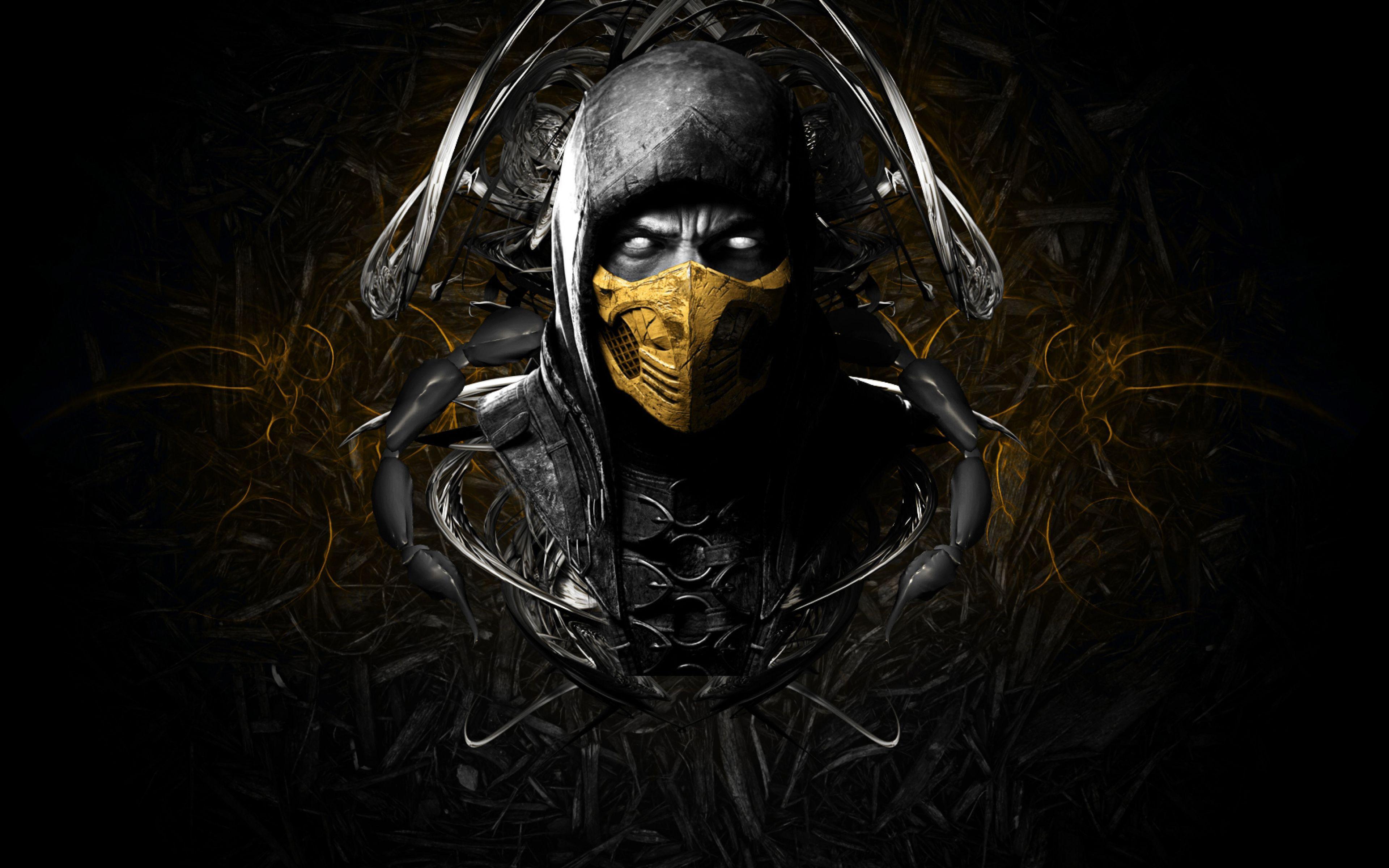 3840x2400 Ultra Hd 4k Mortal Kombat X Wallpapers Hd Desktop Backgrounds Mortal Kombat X Wallpapers Mortal Kombat X Ninja Wallpaper