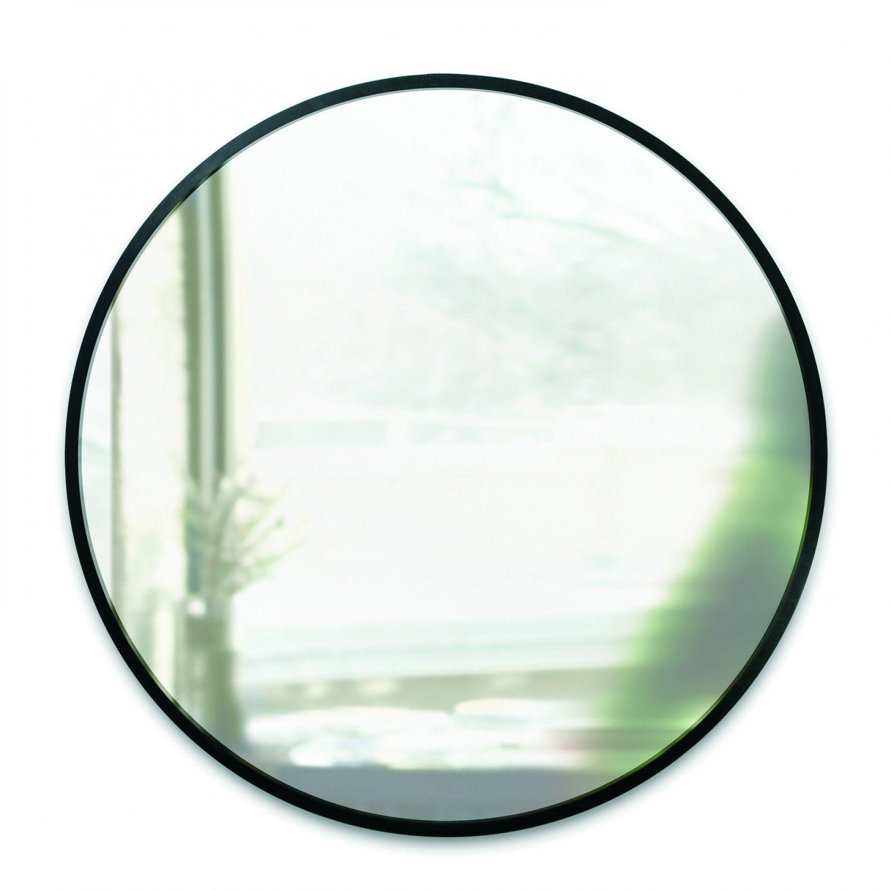 36 inch round mirror frameless round mirror umbra collection hub 36