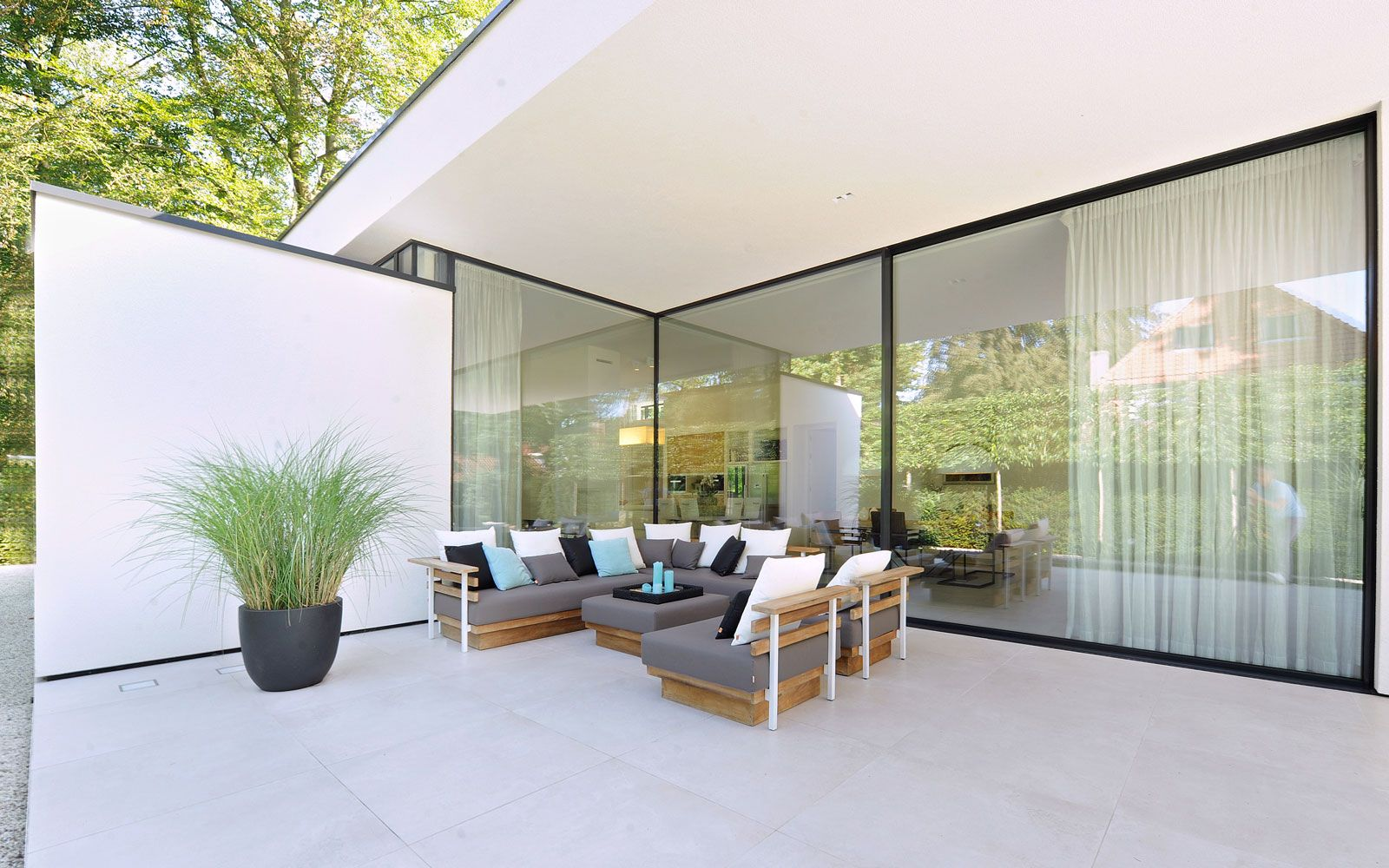 Bungalow | Pinterest | Tuin, Bungalow and Verandas