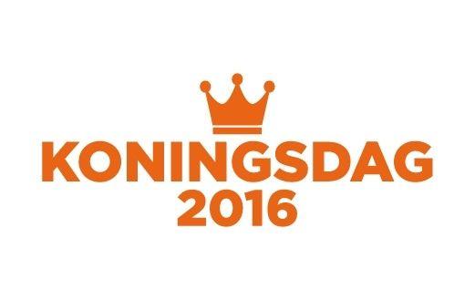 Koningsdag 2016 sticker topper