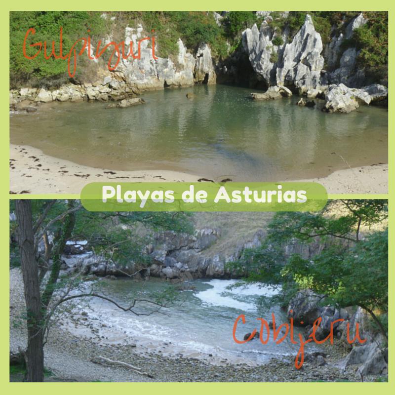 Playas Sin Mar En La Costa Oriental De Asturias Gulpiyuri Y Cobijeru Playas De Asturias Playa Piscinas