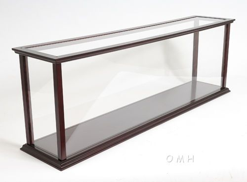 Wooden Table Top Ship Model Display Case For 32 Ocean Liner Cruise Ships New Display Case Ship Model Display Model Display Cases