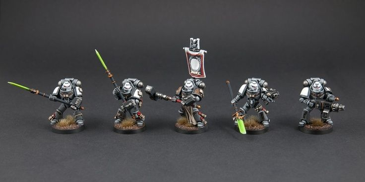 Grey Knights--Green Nemesis Weapons