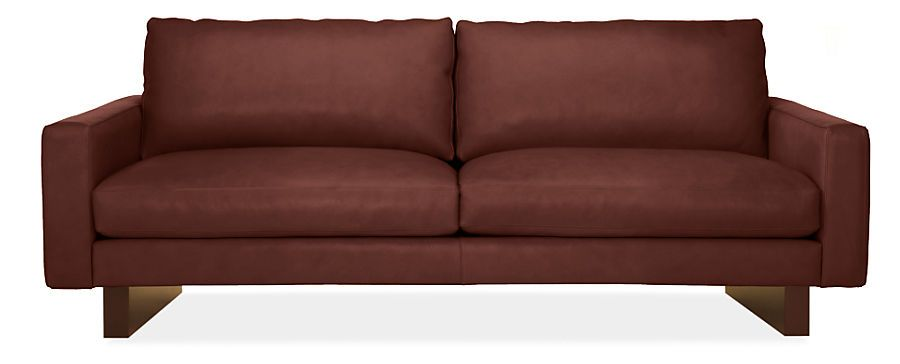 Hess Leather Sofas - Sofas - Living - Room & Board