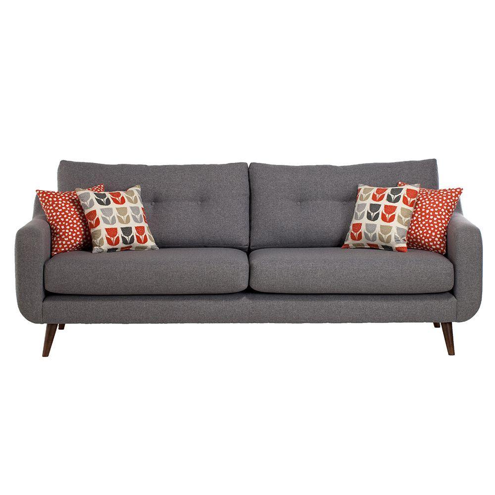 Myers Extra Large Fabric Sofa In 2020 Small Sofa Fabric Sofa