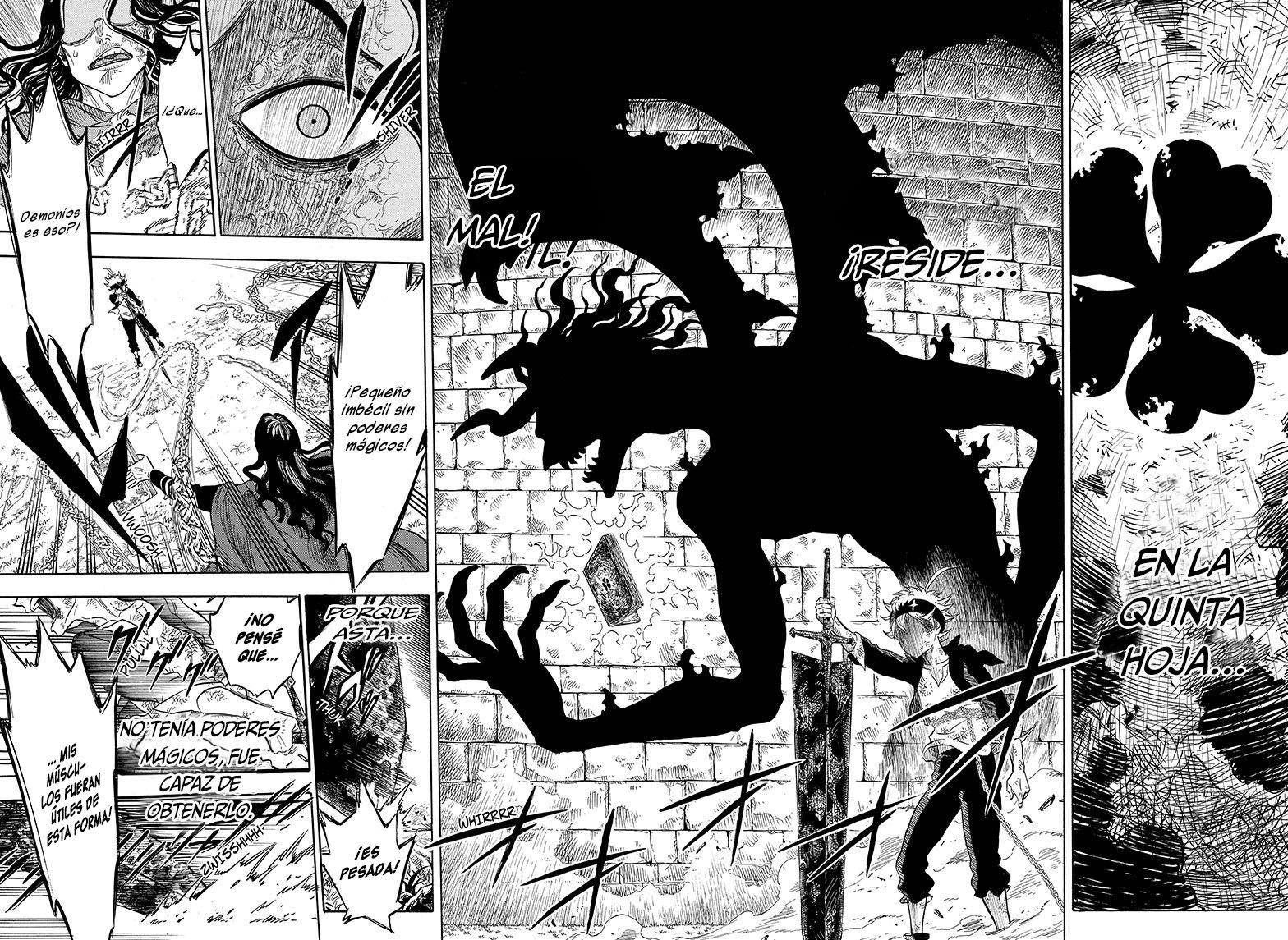 Black Clover Capítulo 1 Manga Pinterest Manga and Anime
