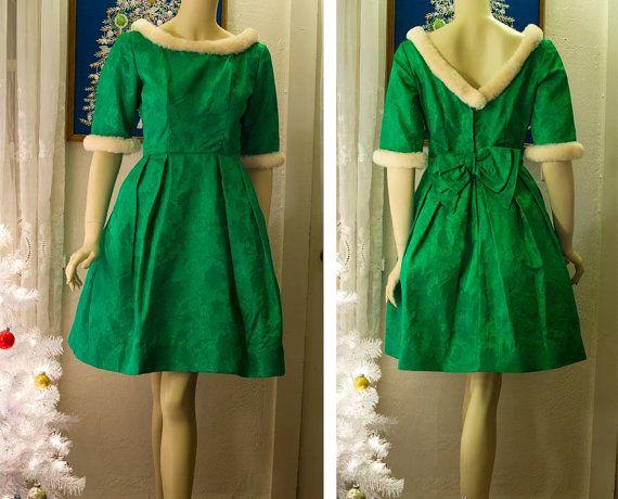 1000  images about Christmas dress ideas on Pinterest - Fur trim ...