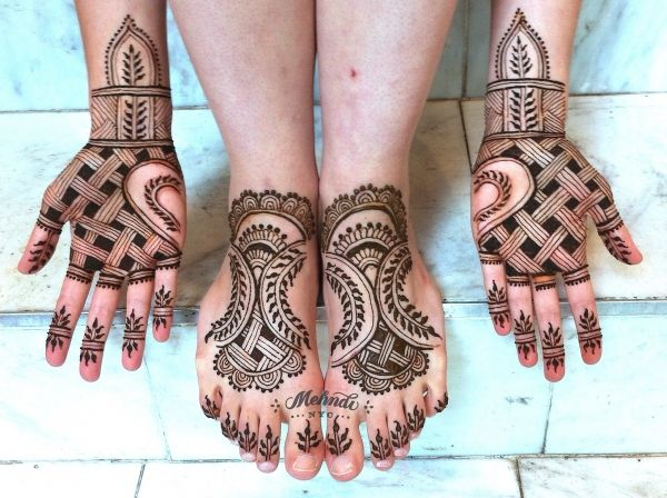 Henna Party Nyc : Mehndinyc gallery natural bridal henna design with