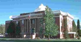 Courthouse in Fremont County, Idaho
