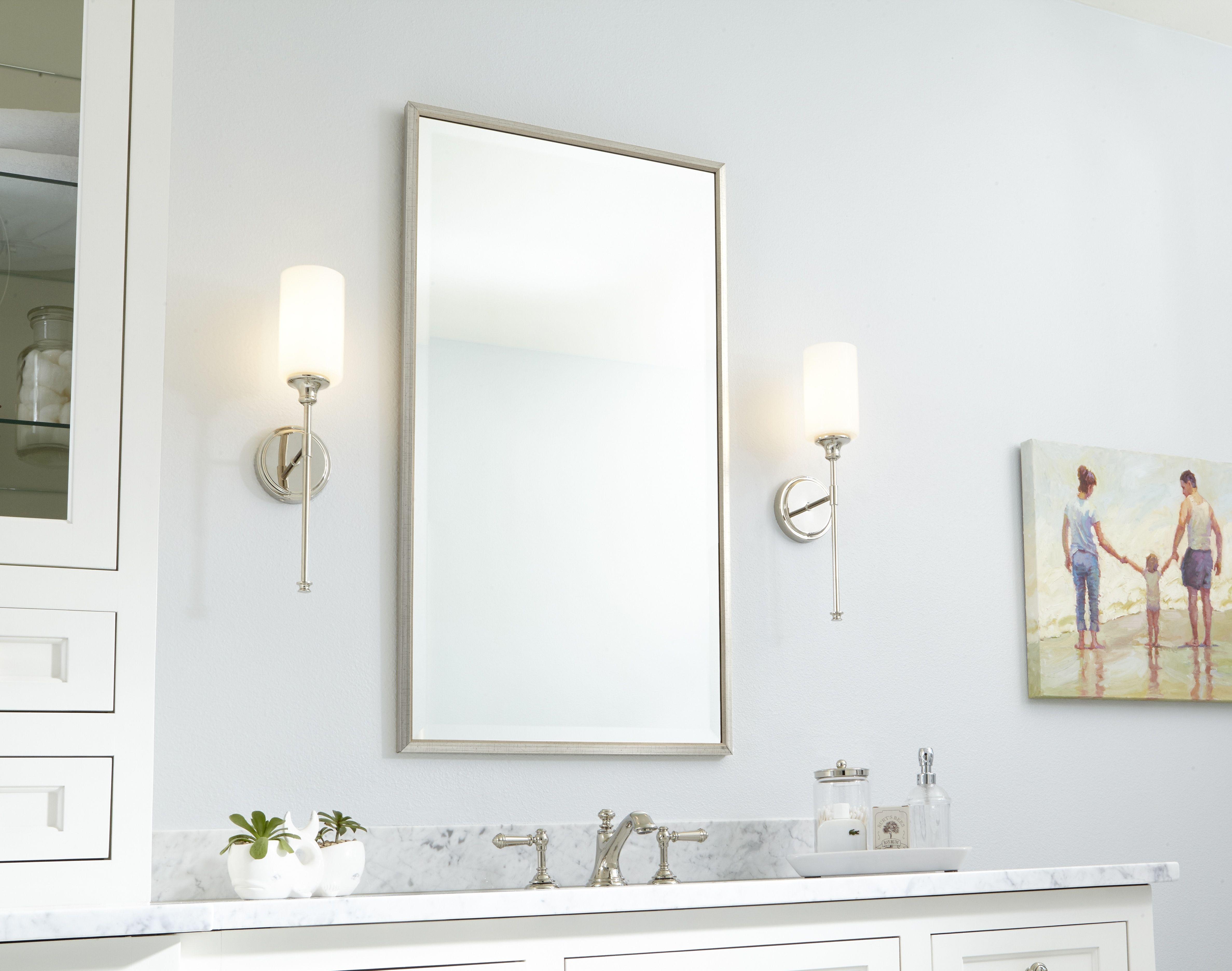 Bathroom Light Fixtures Guide How To Light A Bathroom Mirror