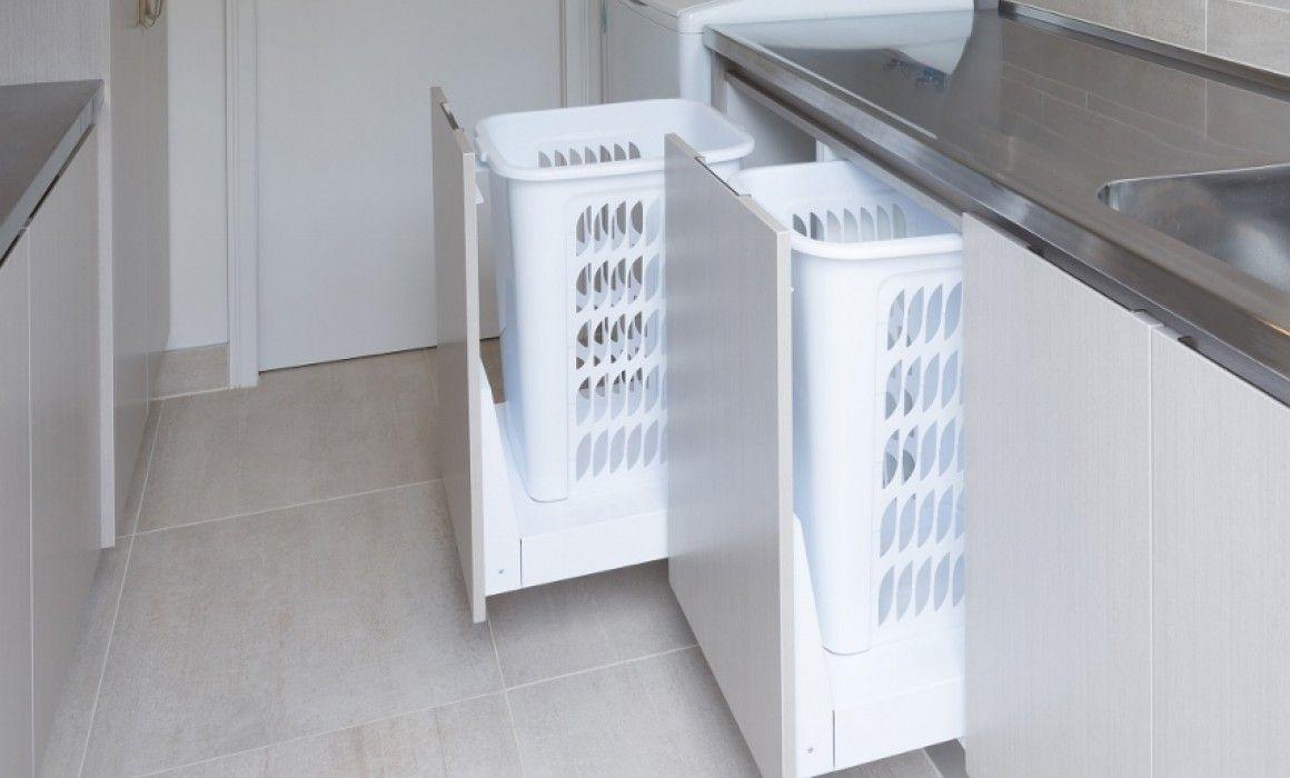 Hideaway Laundry Hamper 1 X 60l Hamper Sclbm160d W Laundry