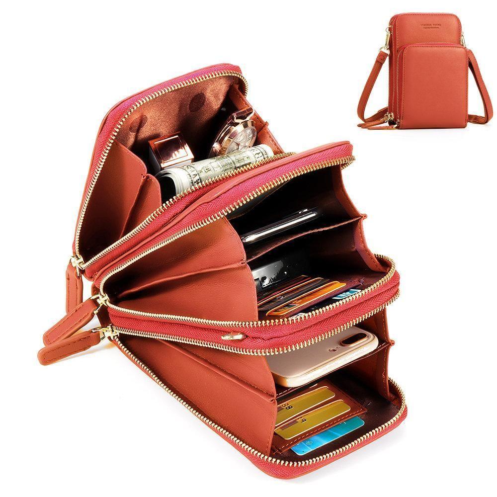 Vintage style PU leather Cross body handbags Clutch bags