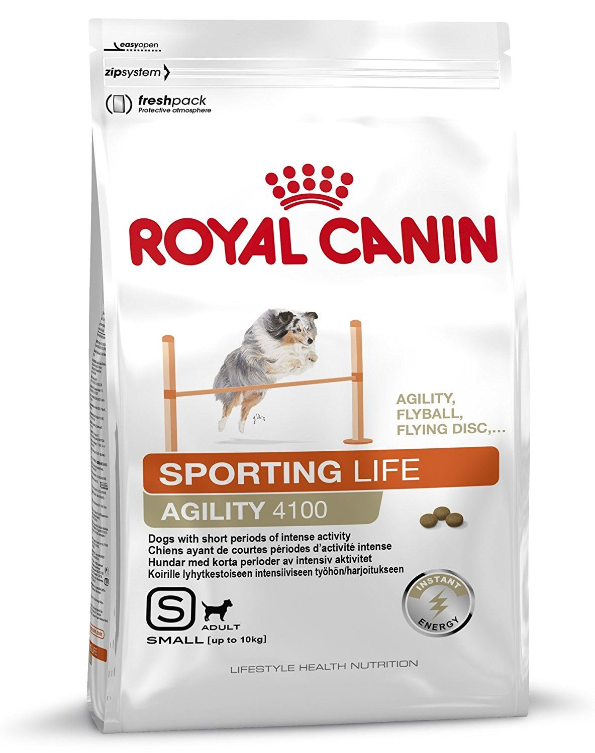 Royal Canin Sporting Life Agility 4100 Small Breed Dog Food 1 5kg