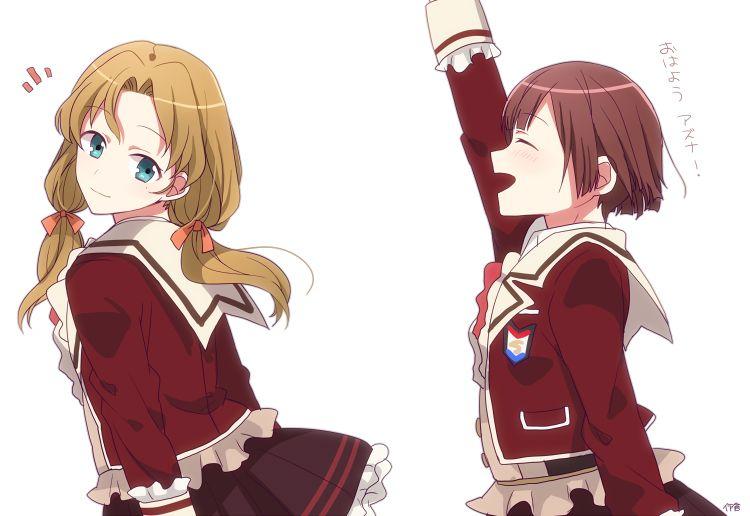 Tachibana Ritsuka Y Asuna Kuzuha ~Dance With Devils