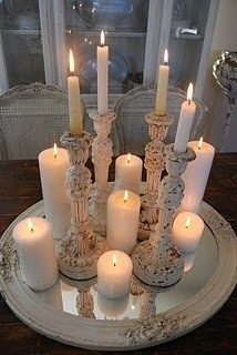 Diy Dreamy Candle Centerpiece  Romantic Decorating Touches Mesmerizing Dining Room Centerpiece Ideas Candles 2018
