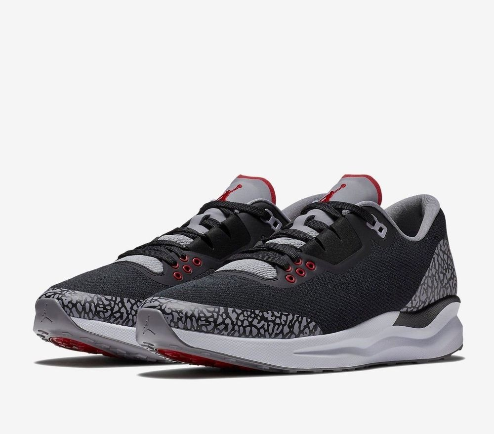 aa12a94624b Jordan Zoom Tenacity 88 Mens Running Shoes 8.5 Black Cement AV5878 002   Jordan  RunningShoes