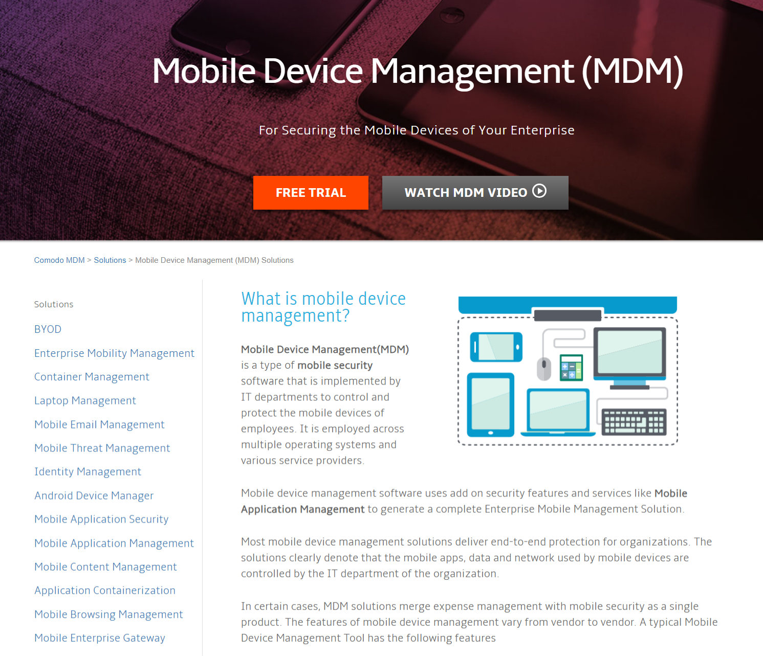 Mobile Device Management in 2019 | Device Manager | Mobile