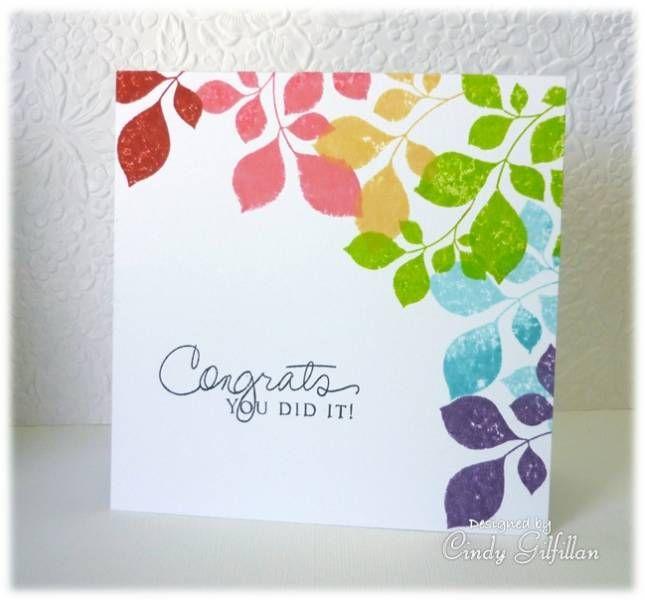 Pin By Carol Feige On Cards With Rainbows Flower Cards Rainbow Card Cards Handmade