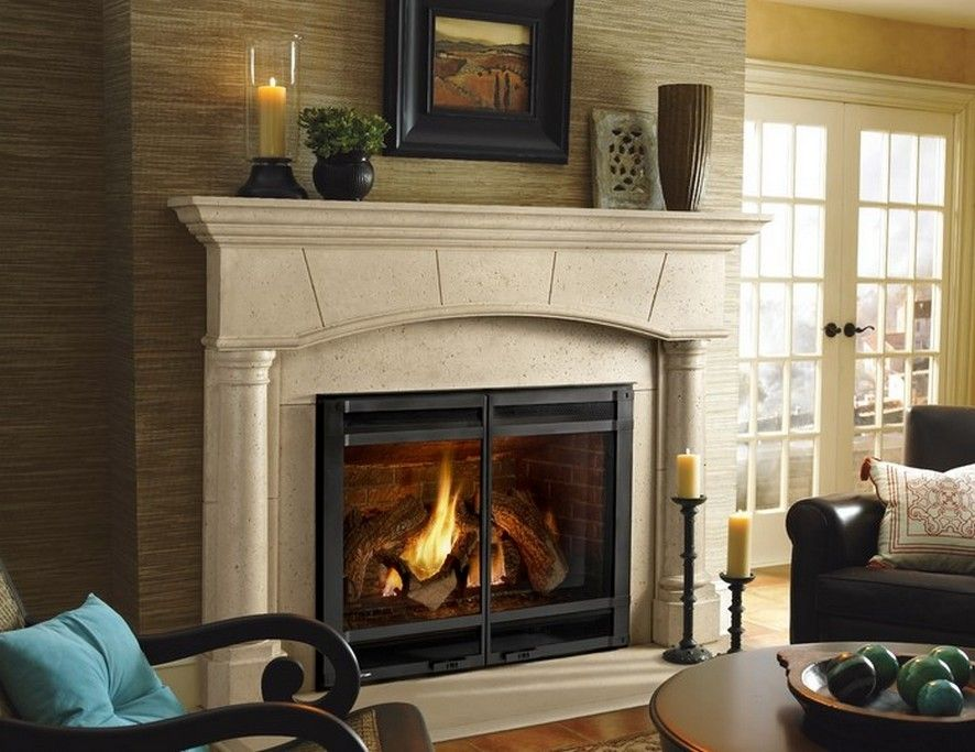 Wood Burning Fireplace Blower A Wood Burning Fireplace Gives A