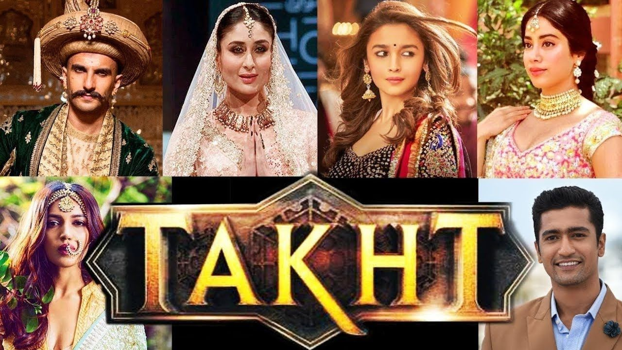 Upcoming Movie Takht Ranveer Singh Kareena Kapoor Alia Bhatt Janhvi Hiburan