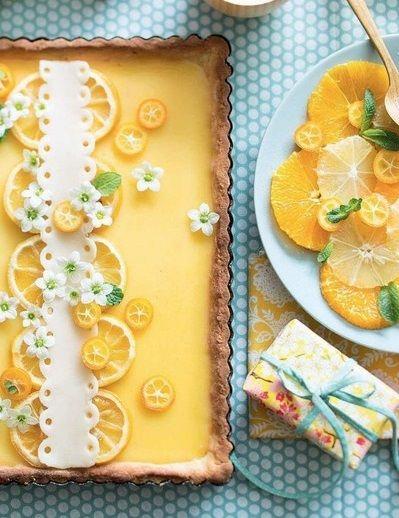 Tarte aux Citron, Marie Claire #TheInspiredTable #lemon