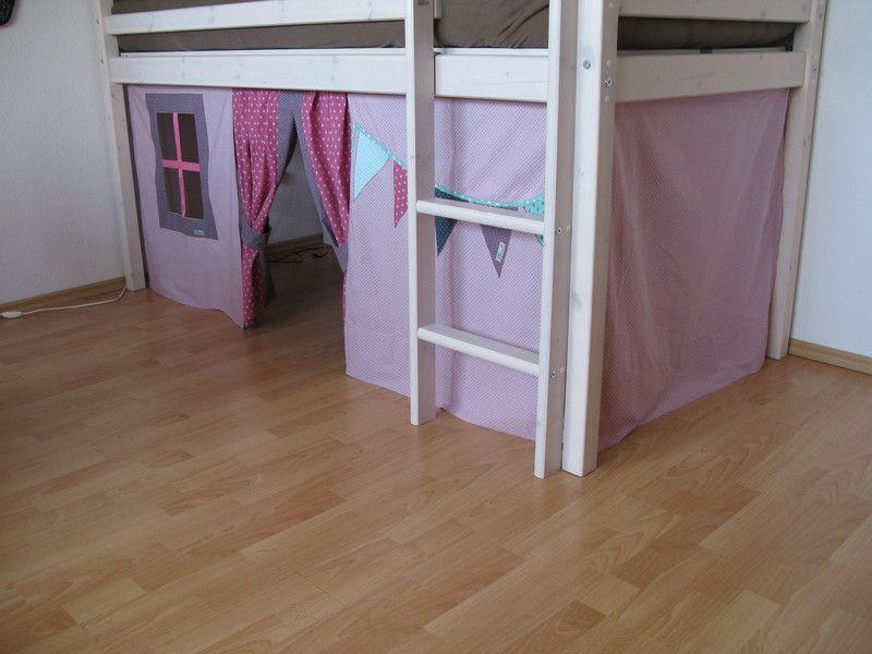 gardinen vorh nge hochbettvorhang hochbettgardine hochbettversteck ein designerst ck von. Black Bedroom Furniture Sets. Home Design Ideas