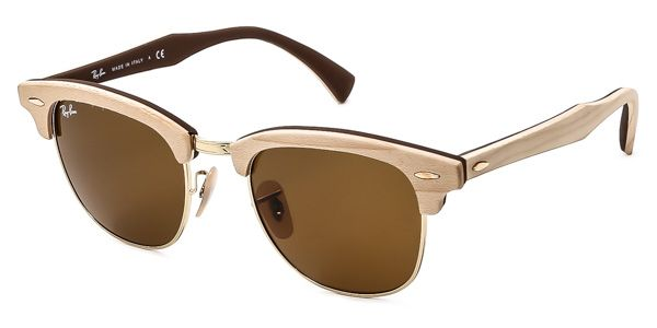 Ray-Ban RB3016M Clubmaster Wood 1179 Sunglasses DKK1.797
