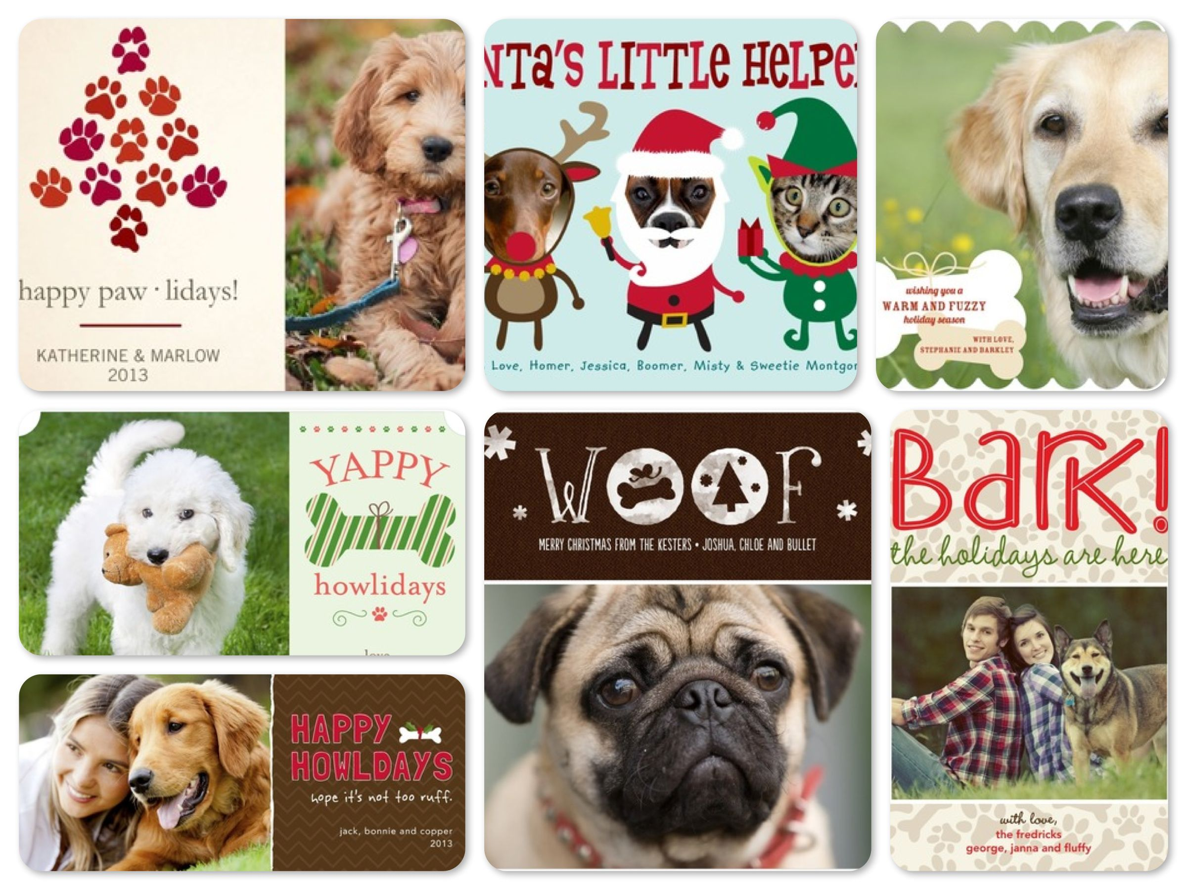 Dog christmas cards merry christmas and happy new year 2018 the glad greeting of merry christmas kristyandbryce Image collections