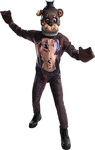Rubie/'s Costume Boys Five Nights At Freddy/'s Nightmare Chica The Chicken Large,