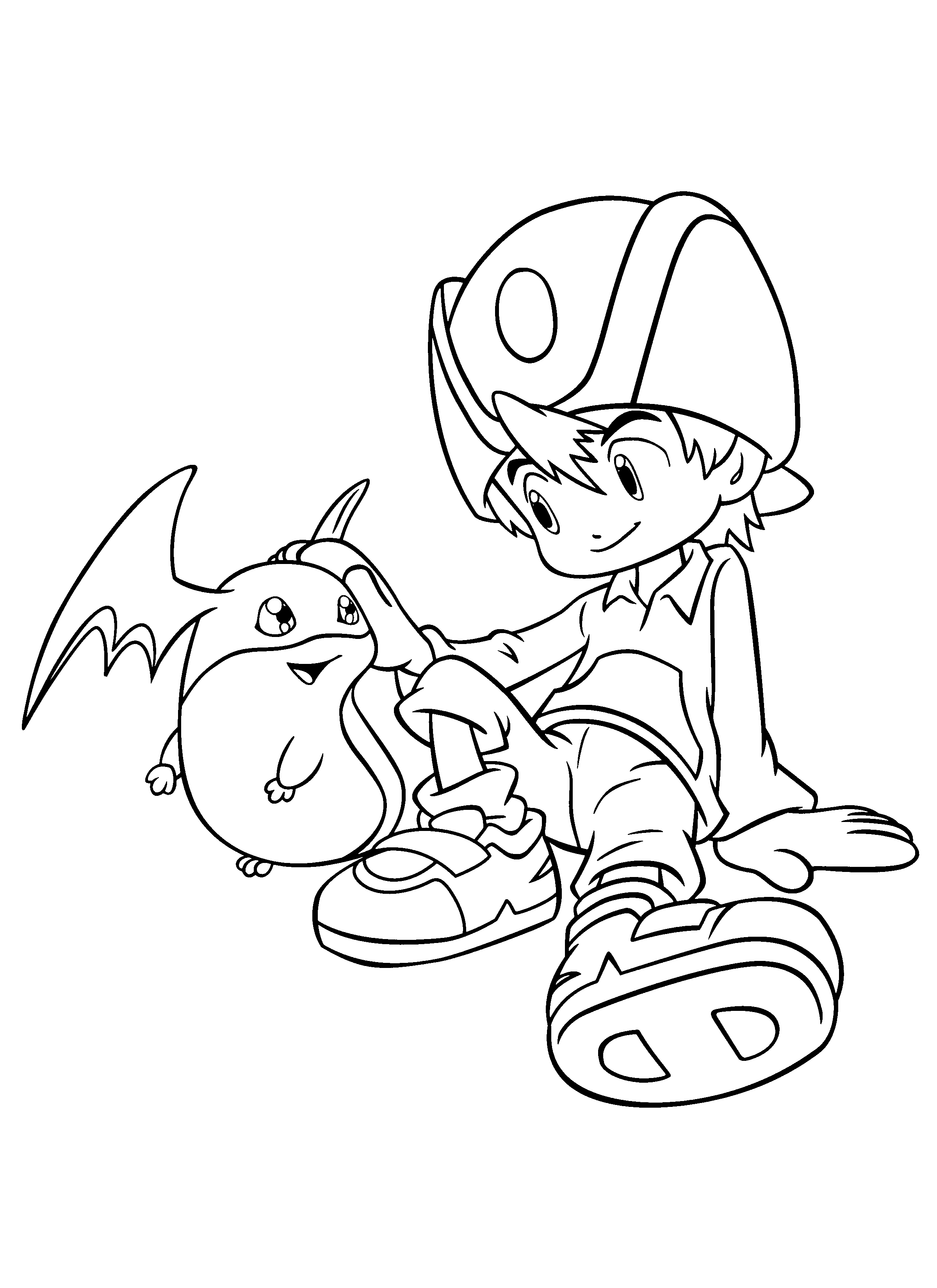 Coloring Page Digimon Coloring Pages 183 Cute Coloring Pages Coloring Pages Digimon