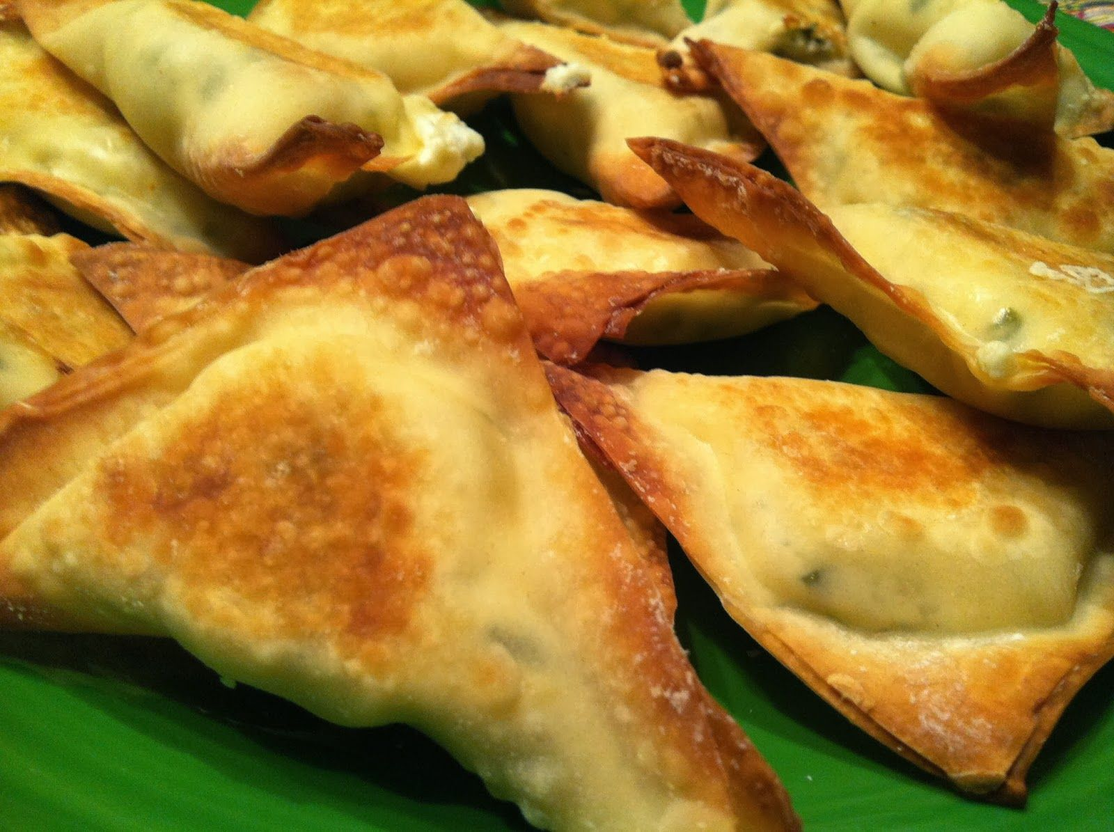 baked cream cheese wontons, weight watchers inspired, www