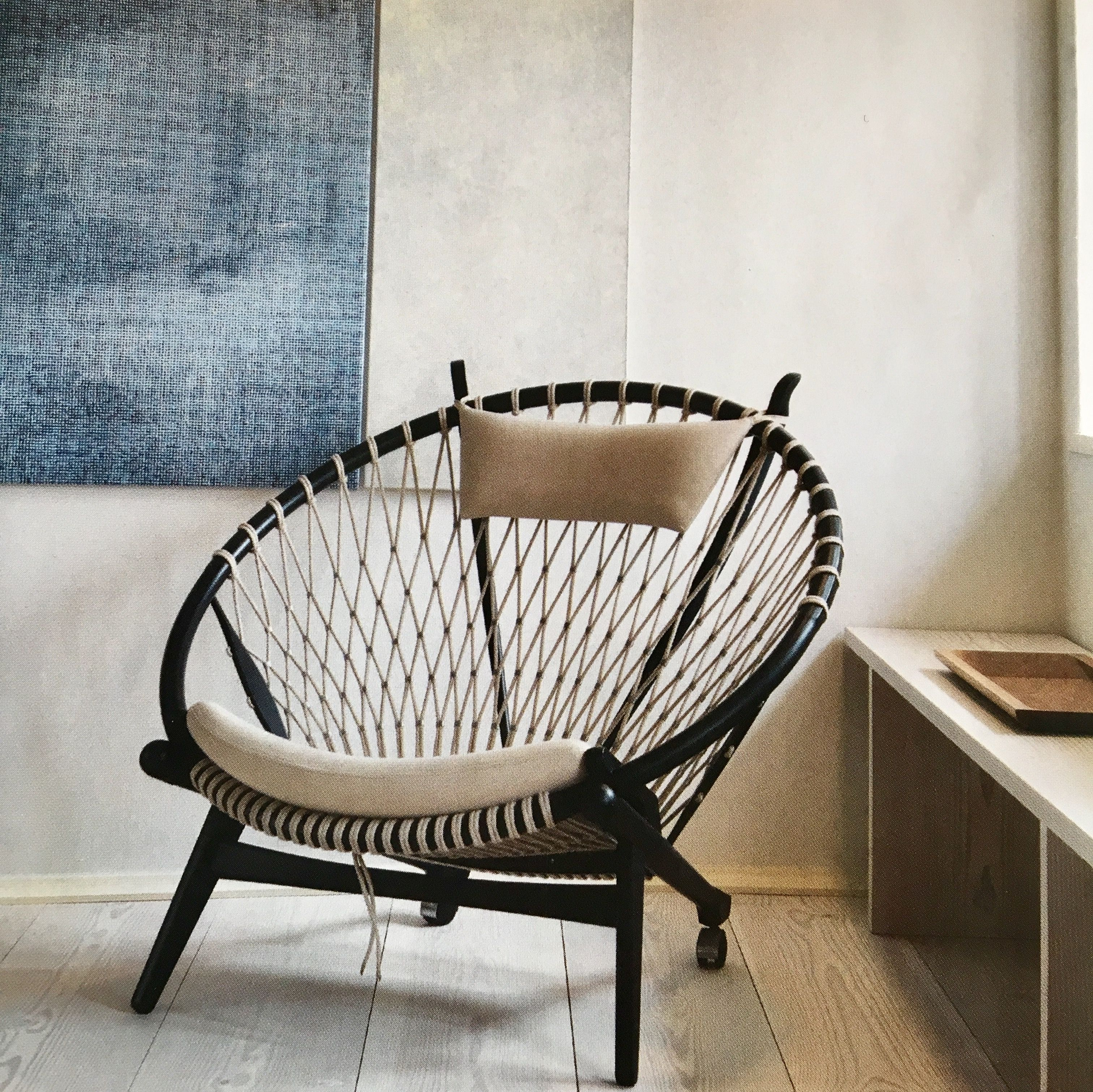 Circle chair van PP M¸bler Hans J Wegner