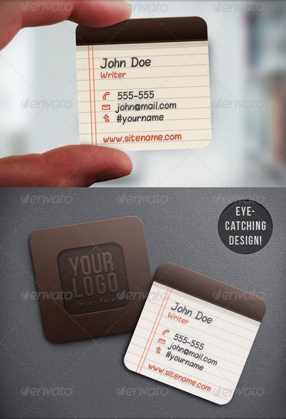 Mini square business cards are creative and cost effective ...