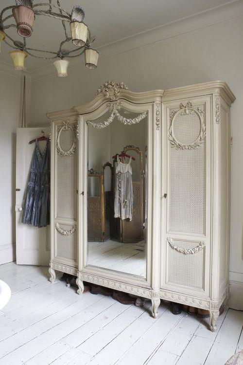 Wardrobe Chambre Shabby Chic Decoration Shabby Chic