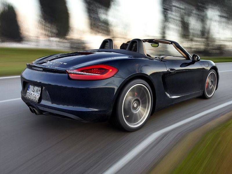 Porsche New Boxster Expected Launch Month September 2014