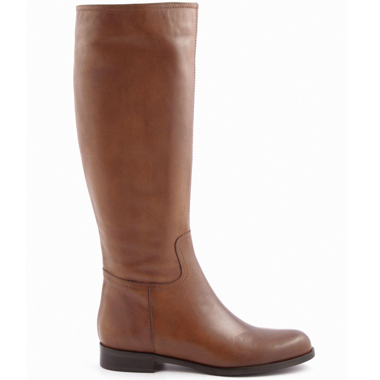 bottes cavalières paddock en cuir de qualité camel - exclusif