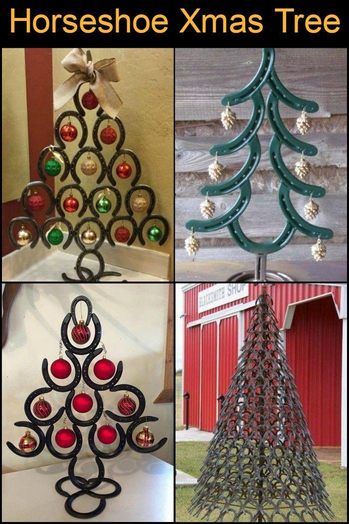 Horseshoe Christmas Tree Horseshoe Christmas Tree Unique