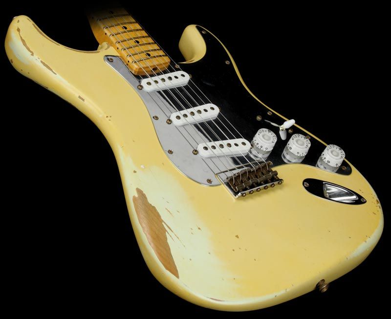 Fender Custom Shop Nile Rodgers Tribute Hitmaker Stratocaster Olympic White