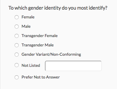 How To Ask Gender Questions In A Survey  Survey Design