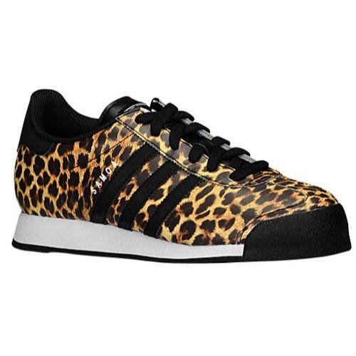 buy online 7949d 936b4 Adidas Samoa Womens Black White Leopard C75459 (SIZE  8.5)