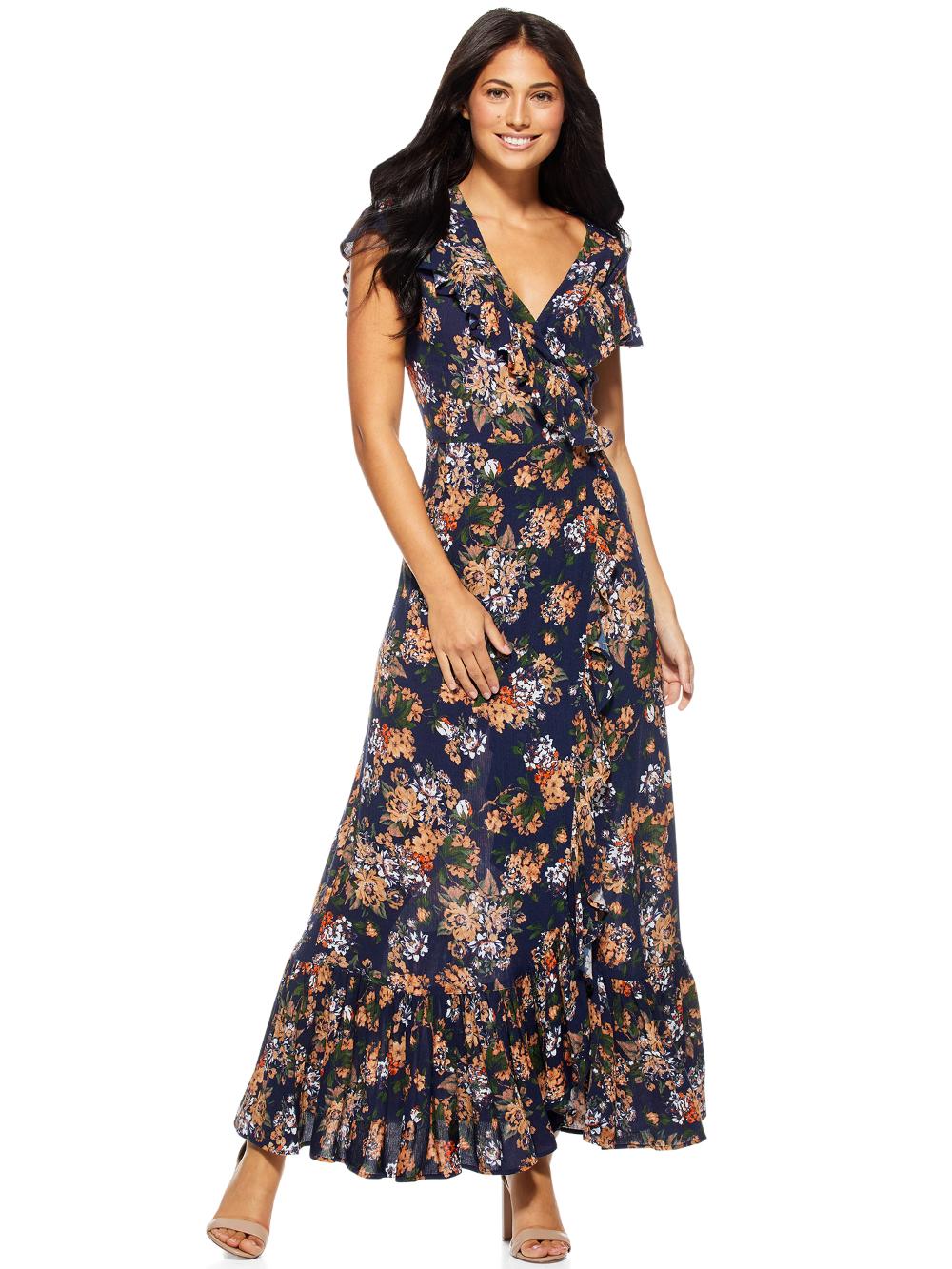 Free 2 Day Shipping Buy Sofia Jeans By Sofia Vergara Women S Short Sleeve Wrap Maxi Dress At Walmart Com Maxi Dress Womens Maxi Dresses Maxi Wrap Dress [ 1333 x 1000 Pixel ]