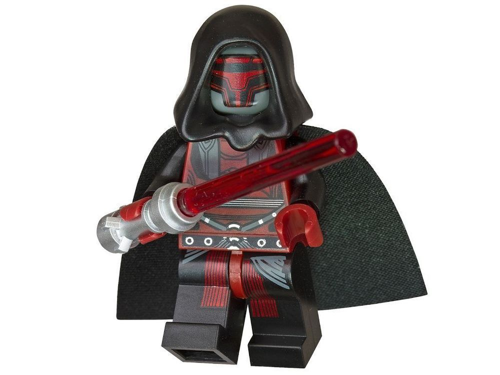 LEGO Star Wars DARTH REVAN MINIFIGURE Knights of the old Republic ...