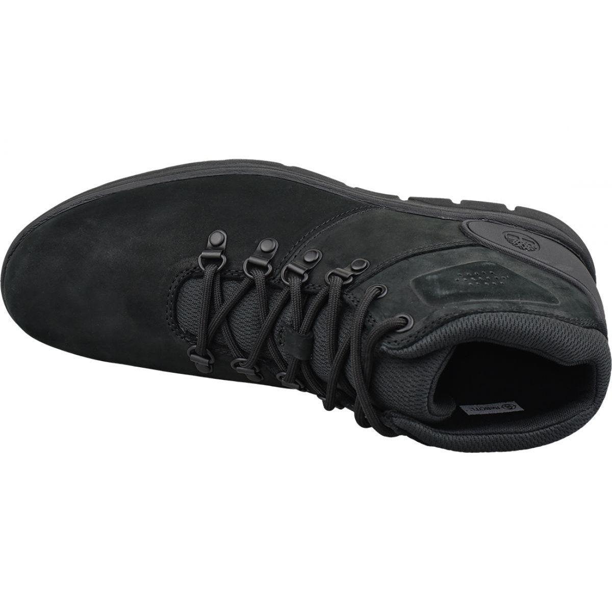 Buty Timberland Bradstreet Hiker M A26zb Czarne Sport Shoes Men Nubuck Leather Black Shoes