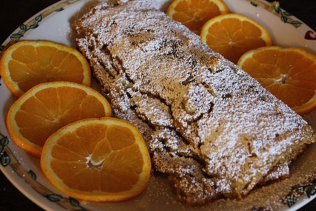 Orange Jelly Roll - Torta de Laranja
