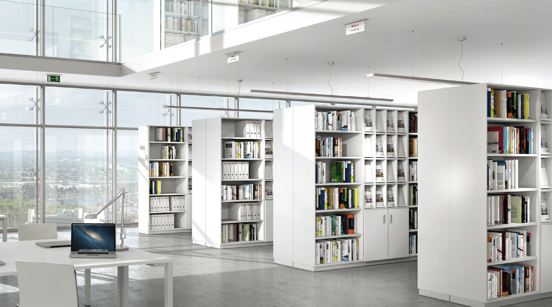 ALLVIA STORAGE - Designer Shelving systems from Assmann Büromöbel ...
