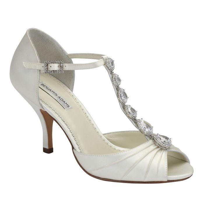 Benjamin Adams Martha Wedding Shoe Bridal Shoes Crystal Shoes