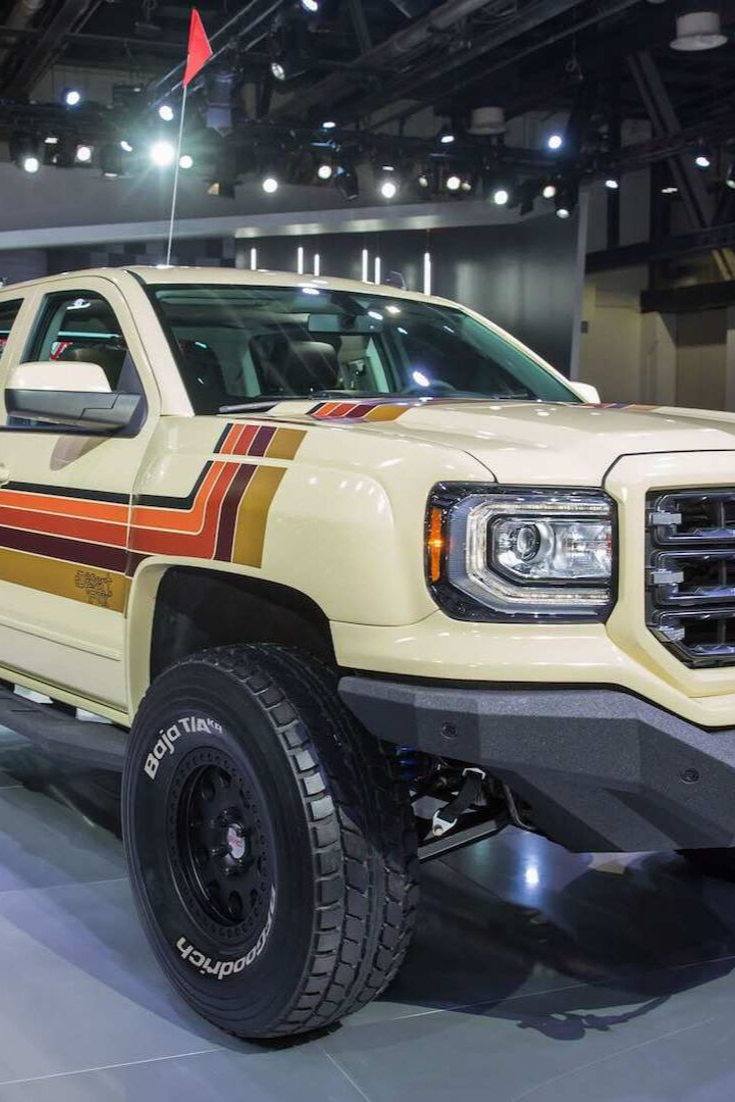 Gmc Desert Fox Sierra Concept Truck Is A Retro Off Roader Gmc
