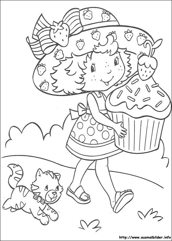 Emily Erdbeer Malvorlagen Ausmalbilder Dibujos Para Colorear