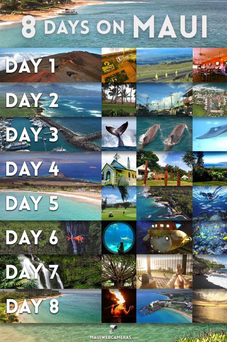 8-Day Maui Itinerary - Fun things to do on the Val